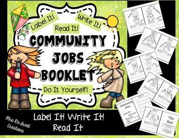 Kindergarten Writing- Community Jobs
