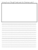 Kindergarten Writing Journal December
