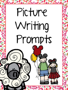Kindergarten Writing set 2 (with picture prompts!)