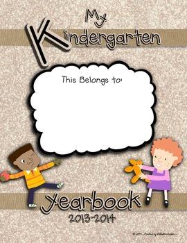 Kindergarten Yearbook 2013-2014