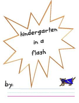 Kindergarten in a Flash..End of year journal