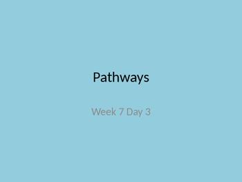 Kindergarten pathways to Reading powerpoint Day 3 Letter Pp