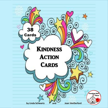 Kindness Action Cards | TASK CARDS |Weekly Character Educa