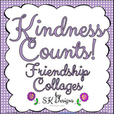 Kindness Counts Character Collages Printables Project Bull