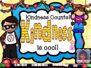 Kindness Counts! NO-PREP Character Education Lesson and Wo