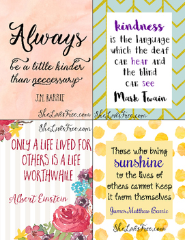 Kindness Lunch Notes Freebie