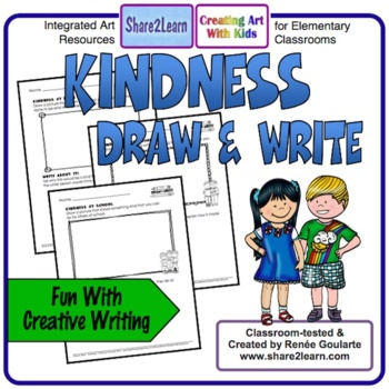 Kindness Writing Draw and Write