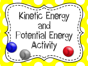 Kinetic and Potential Energy Investigation, Kinetic and Po