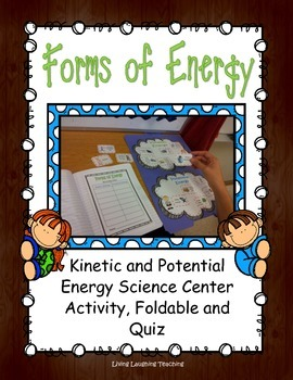 Kinetic and Potential Energy Activity Center