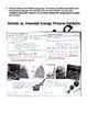 Kinetic and Potential Energy Foldable Activity