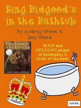 King Bidgood's In the Bathtub Activity Packet