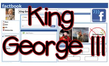 King George III Facebook