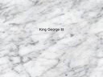 King George III PowerPoint
