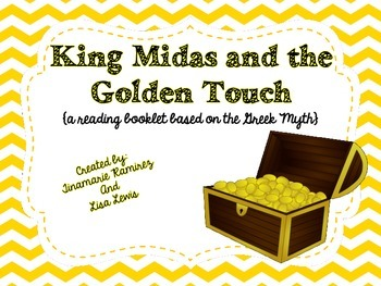 King Midas and the Golden Touch {a reading booklet based o