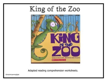 King Of The Zoo Shared Reading