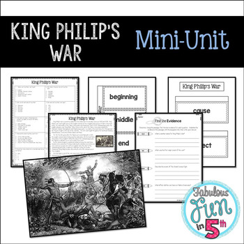 King Philip's War: Mini-Unit
