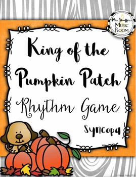 King of the Pumpkin Patch {Syncopa}