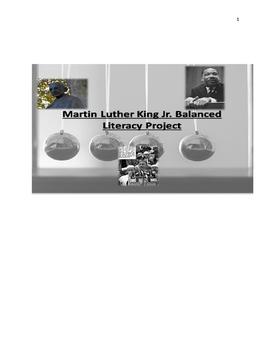 "King's ""Three Ways of Meeting Oppression"" Balanced Literac"