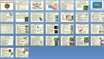 Kingdoms Domains Smartboard Notebook Presentation Lesson Plan