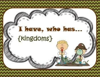Kingdoms {I have, who has}
