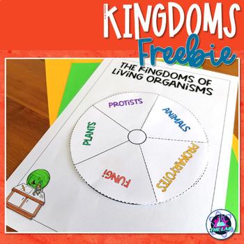 FREEBIE: Kingdoms of Living Organisms INB