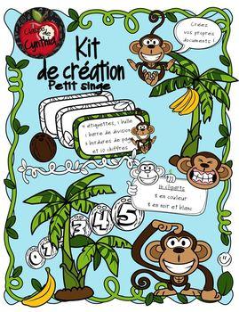 Kit de création Petit Singe