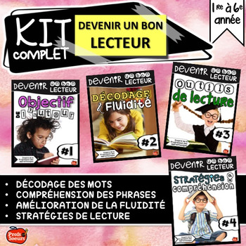 Devenir un bon lecteur : kit complet // Lecture guidée
