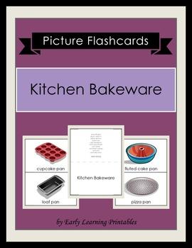 Kitchen Bakeware Picture Flashcards