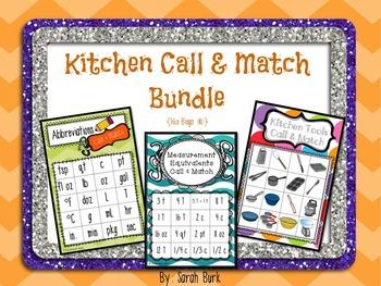 Kitchen Call & Match Bundle {like Bingo(R)}