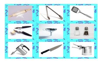 Kitchen Cookware & Utensil Cards