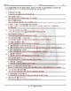 Kitchen Cookware and Utensils Sentence Finishers Worksheet