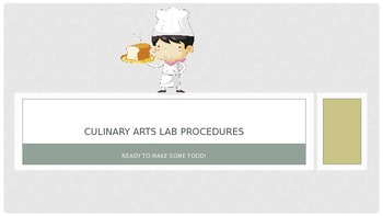 Kitchen Lab Procedures
