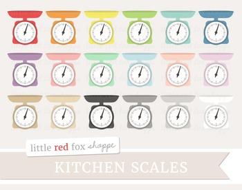 Kitchen Scale Clipart