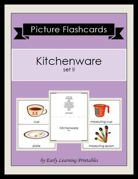 Kitchenware (set II) Picture Flashcards