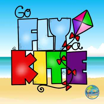 Kite Activity Kit--Preposition and Color Review