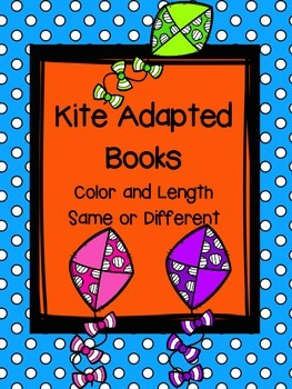 Kite Adapted Books Color and Length, Same or Different
