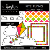 Kite Flying Mini Set {Graphics for Commercial Use}