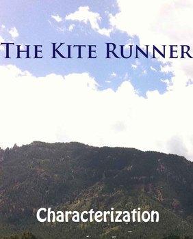 Kite Runner:  Characterization worksheet