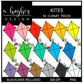 Kites {Graphics for Commercial Use}