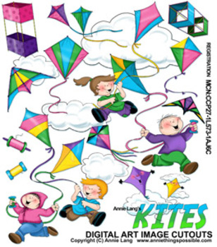 Kites Images Clipart