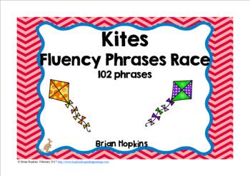 Kites Sight Word Fluency Phrases Race