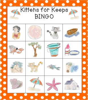 Kittens for Keeps (Jenny's Surprise Summer) BINGO Game