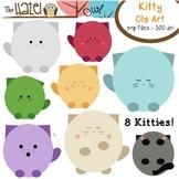 Kitty Cat Set: Clip Art Graphics for Teachers
