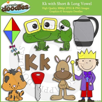 K Short and Long Vowel