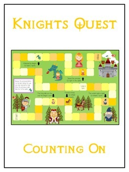 Knight's Quest Math Folder Game - Common Core - Counting O