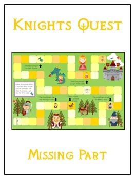 Knight's Quest Math Folder Game - Common Core - Finding th