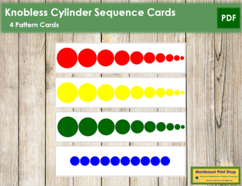 Knobless Cylinder Sequence Cards