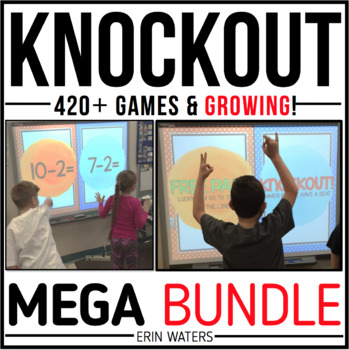 Knockout MEGA Bundle {K-3 All 190+ Games}