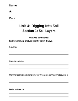 Digging Into Soil packet