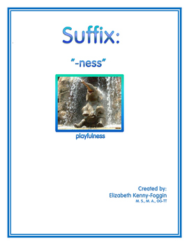 """Know the Code: Suffixes - """"ness"""""""
